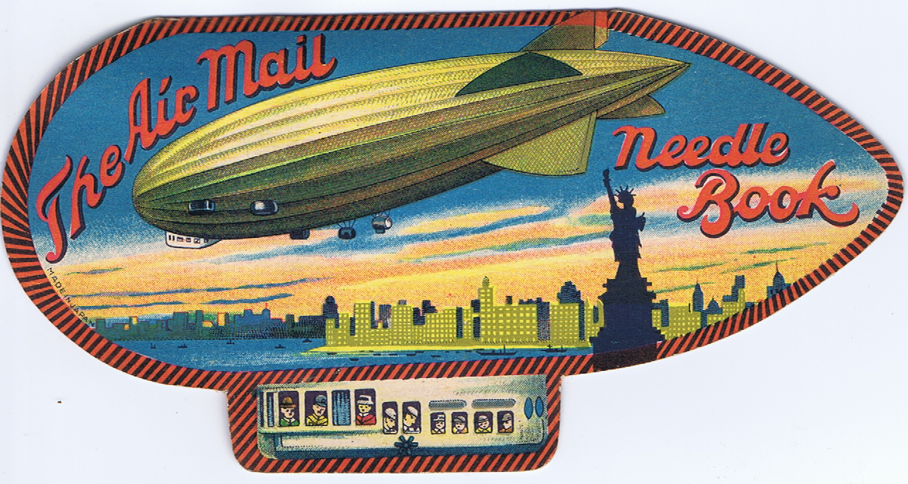 J754	THE AIR MAIL NEEDLE BOOK