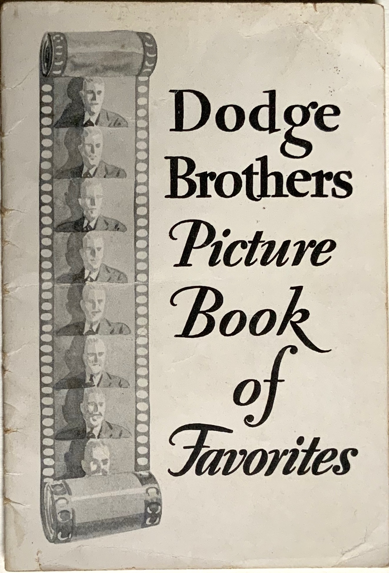 J769DODGE BROTHERS PICTURE BOOK OF FAVORITES