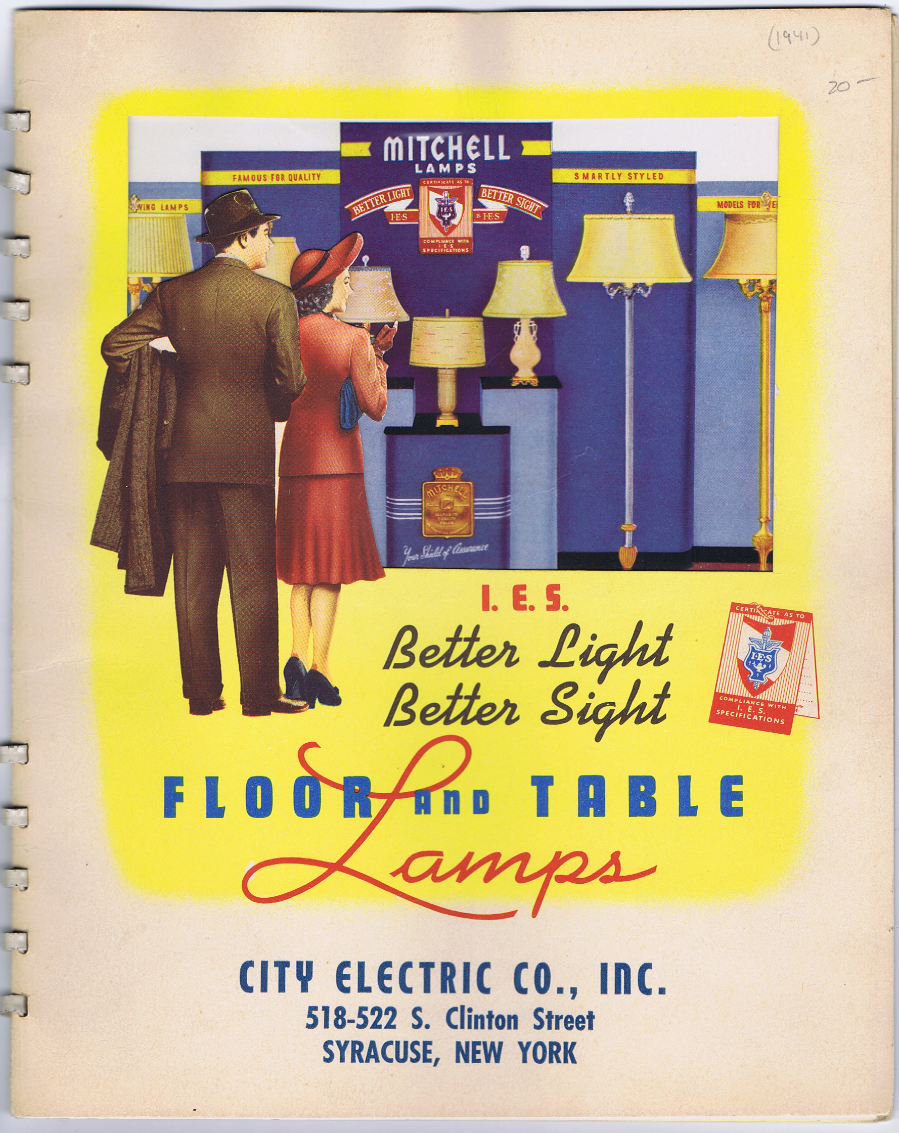 J995FLOOR AND TABLE LAMPS CATALOGUE LATE 1930S J995FLOOR AND TABLE LAMPS CATALOGUE LATE 1930S